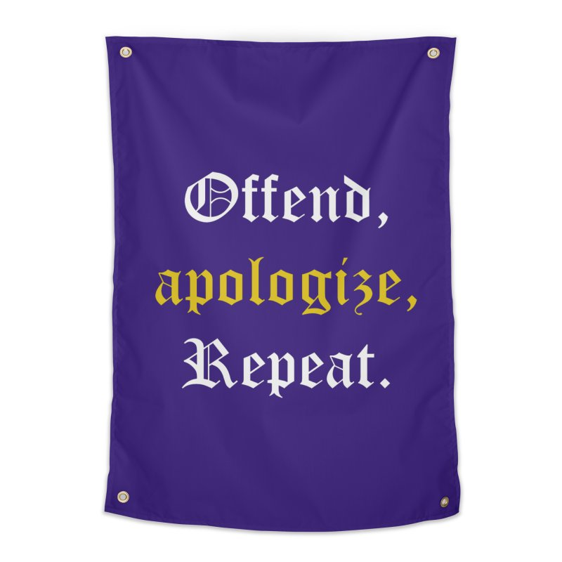 Sorry Not Sorry Home Tapestry by Thirty Silver