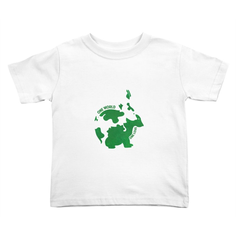 Bunnies Kids Toddler T-Shirt by Thirty Silver