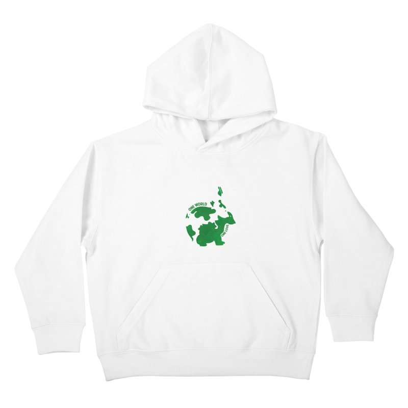 Bunnies Kids Pullover Hoody by Thirty Silver