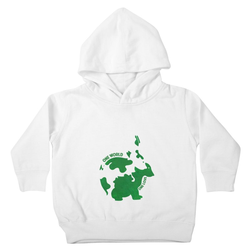 Bunnies Kids Toddler Pullover Hoody by Thirty Silver