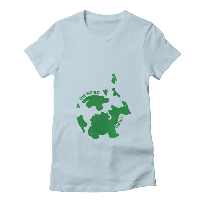 Bunnies Women's Fitted T-Shirt by Thirty Silver