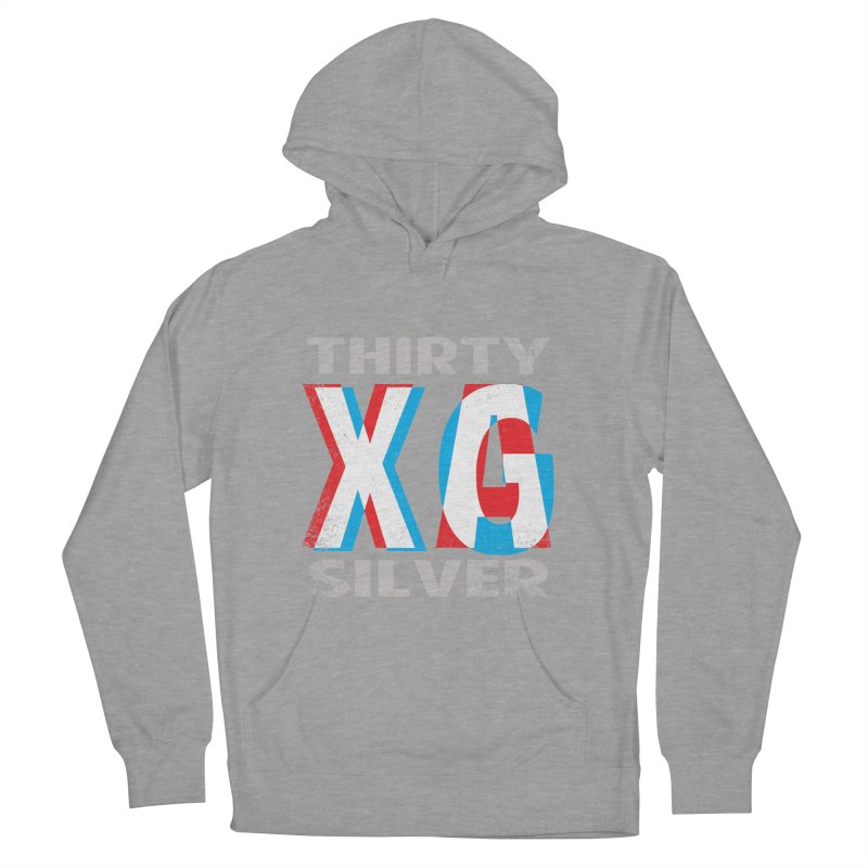 Thirty Silver LOGO Men's French Terry Pullover Hoody by Thirty Silver