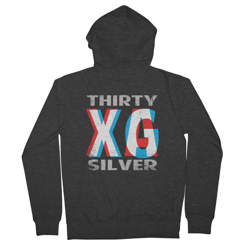 Thirty Silver LOGO Men's Zip-Up Hoody by Thirty Silver