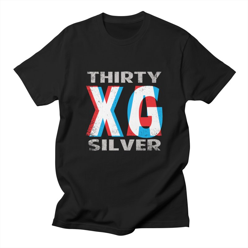Thirty Silver LOGO Men's Regular T-Shirt by Thirty Silver
