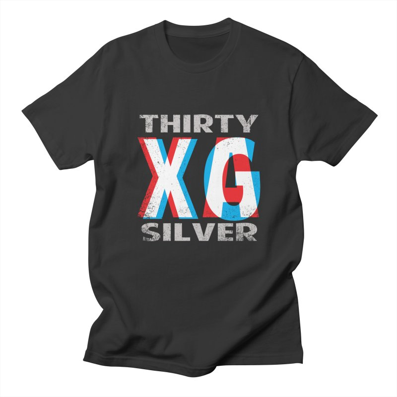 Thirty Silver LOGO Men's T-Shirt by Thirty Silver