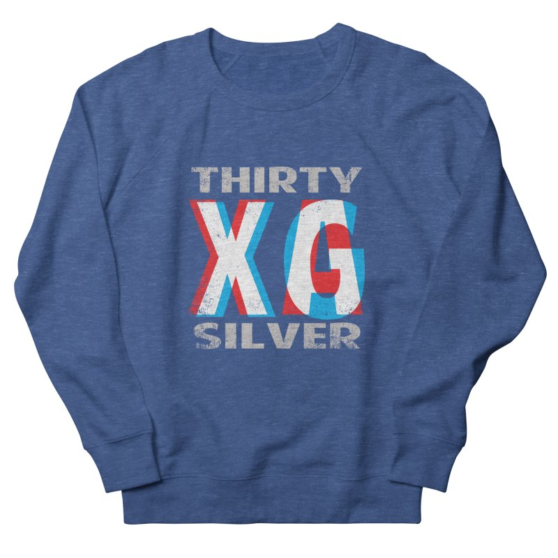 Thirty Silver LOGO Women's French Terry Sweatshirt by Thirty Silver