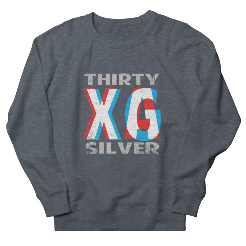 Thirty Silver LOGO Men's French Terry Sweatshirt by Thirty Silver