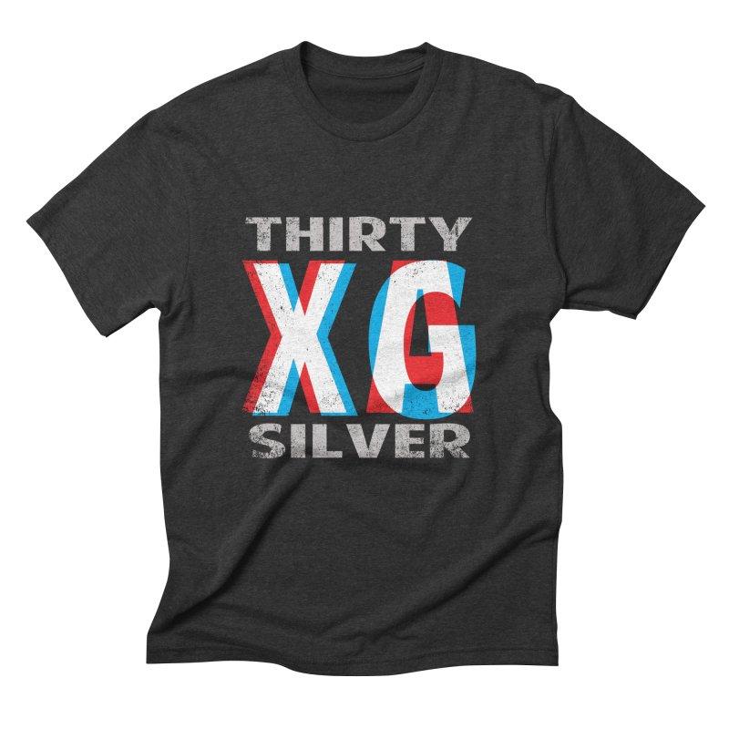 Thirty Silver LOGO Men's Triblend T-Shirt by Thirty Silver