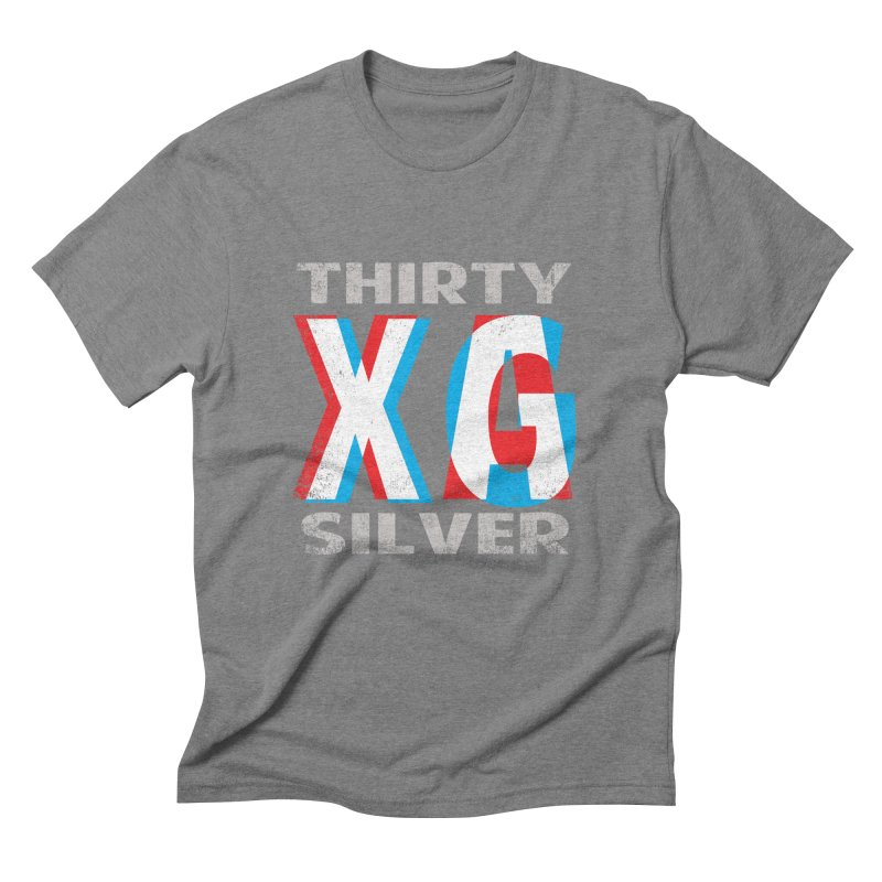 Thirty Silver LOGO Men's Triblend T-Shirt by Thirty Silver