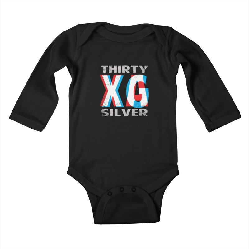 Thirty Silver LOGO Kids Baby Longsleeve Bodysuit by Thirty Silver