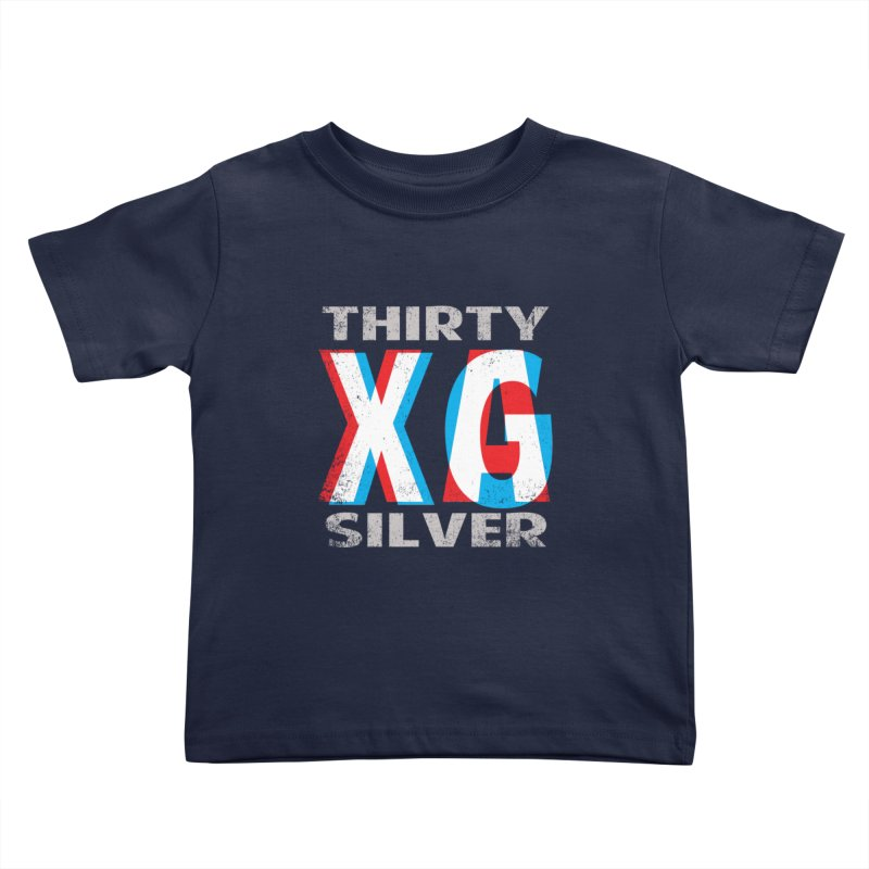 Thirty Silver LOGO Kids Toddler T-Shirt by Thirty Silver