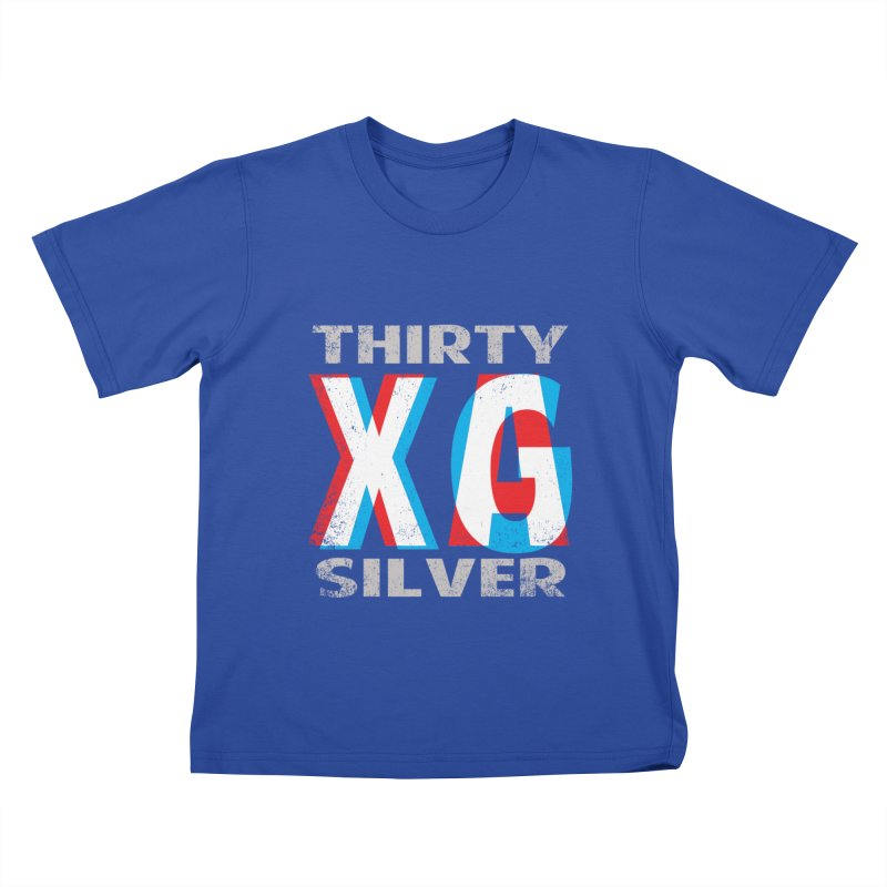 Thirty Silver LOGO Kids T-Shirt by Thirty Silver