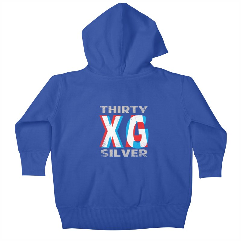Thirty Silver LOGO Kids Baby Zip-Up Hoody by Thirty Silver