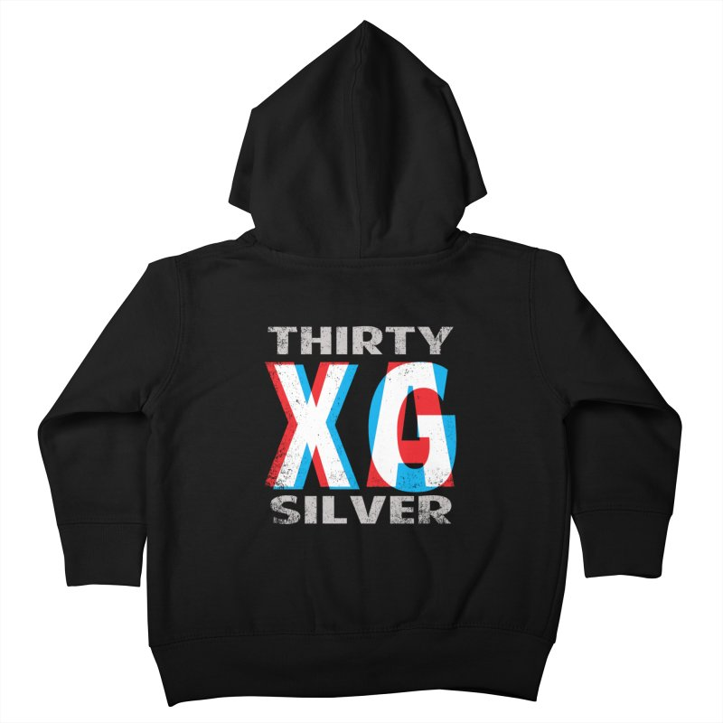 Thirty Silver LOGO Kids Toddler Zip-Up Hoody by Thirty Silver