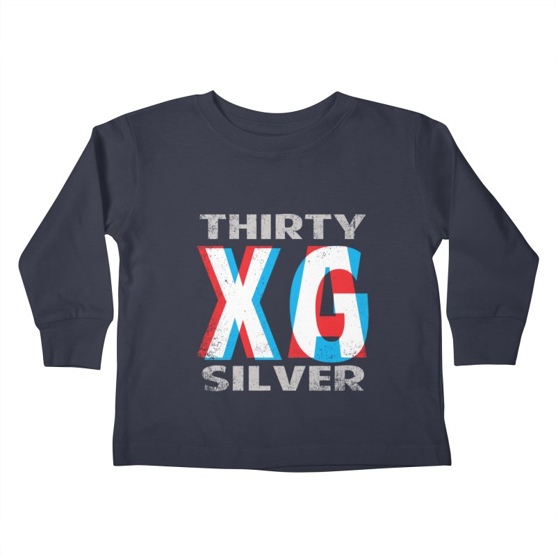 Thirty Silver LOGO Kids Toddler Longsleeve T-Shirt by Thirty Silver