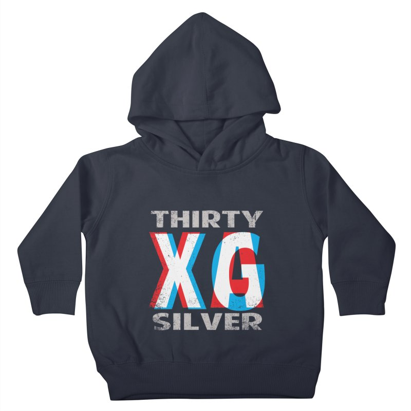 Thirty Silver LOGO Kids Toddler Pullover Hoody by Thirty Silver