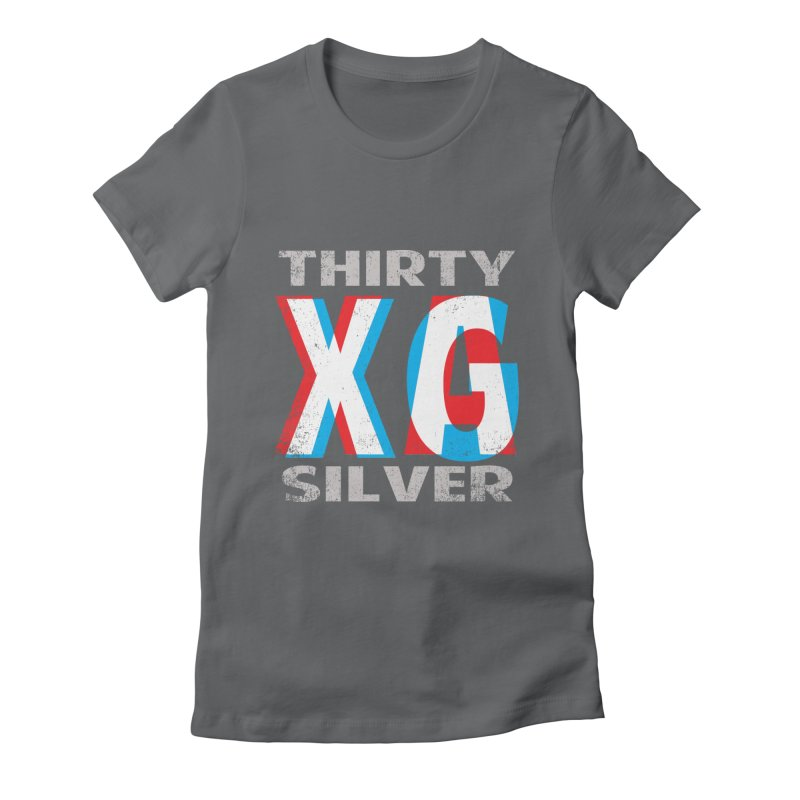 Thirty Silver LOGO Women's Fitted T-Shirt by Thirty Silver