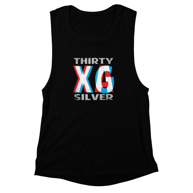 Thirty Silver LOGO Women's Muscle Tank by Thirty Silver