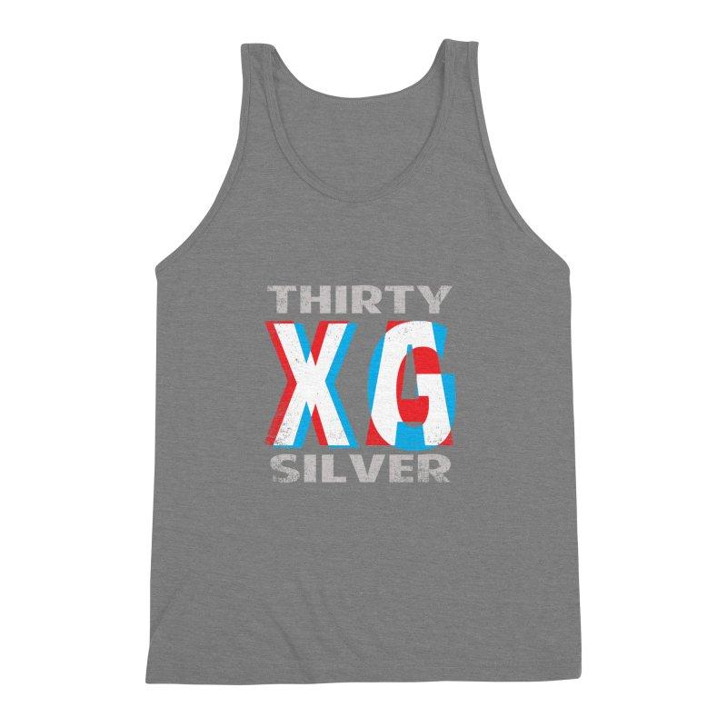 Thirty Silver LOGO Men's Triblend Tank by Thirty Silver