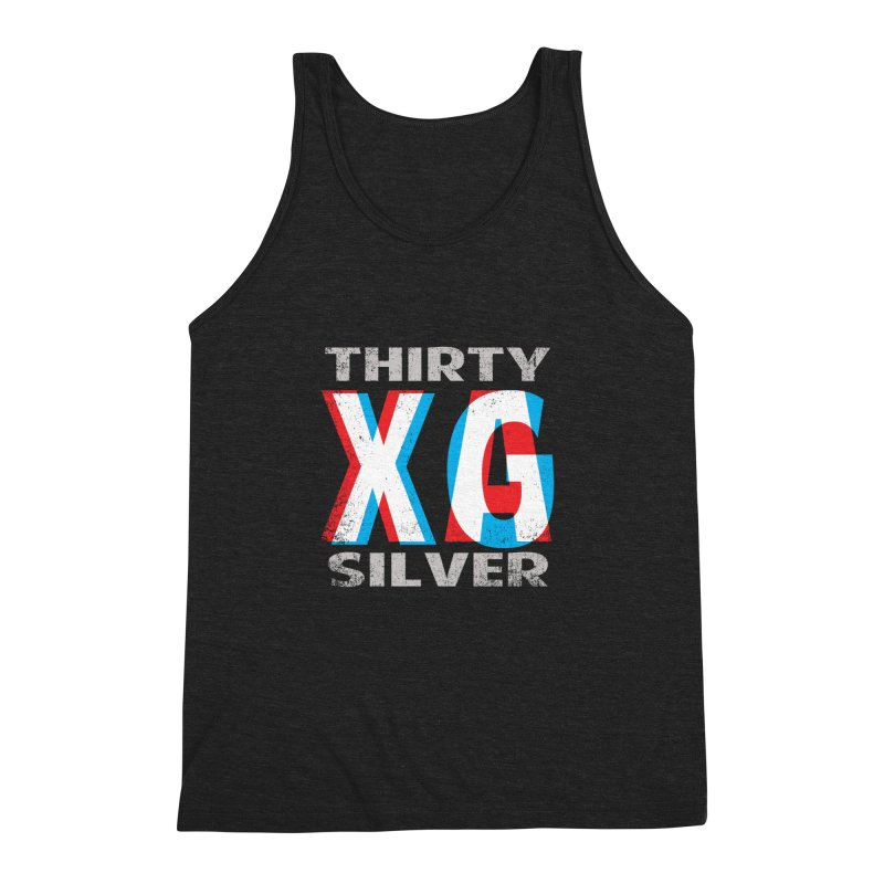 Thirty Silver LOGO Men's Triblend Tank by Thirty Silver