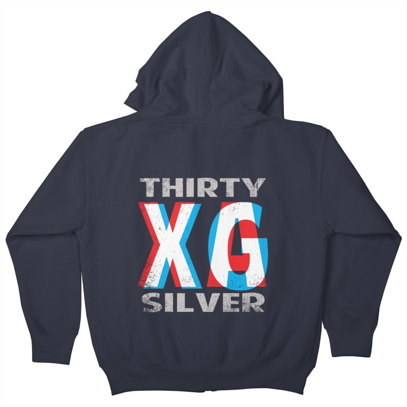 Thirty Silver LOGO Kids Zip-Up Hoody by Thirty Silver