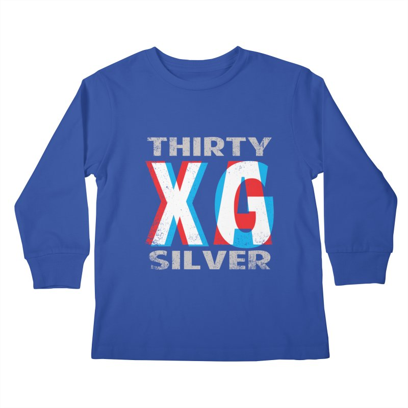 Thirty Silver LOGO Kids Longsleeve T-Shirt by Thirty Silver