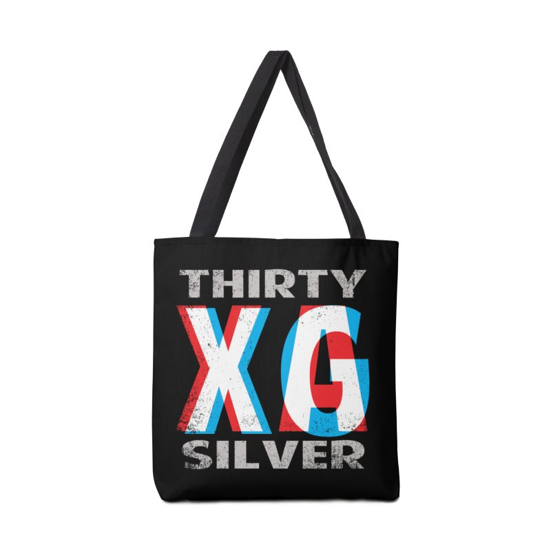Thirty Silver LOGO Accessories Tote Bag Bag by Thirty Silver
