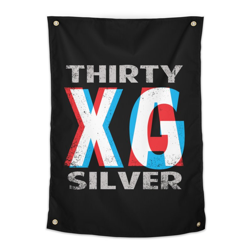 Thirty Silver LOGO Home Tapestry by Thirty Silver