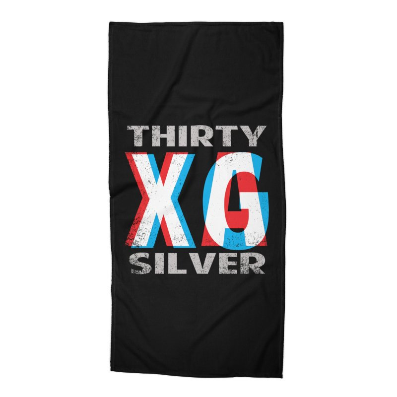 Thirty Silver LOGO Accessories Beach Towel by Thirty Silver