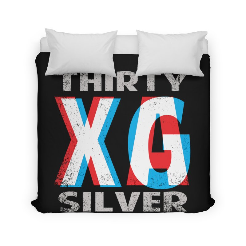 Thirty Silver LOGO Home Duvet by Thirty Silver