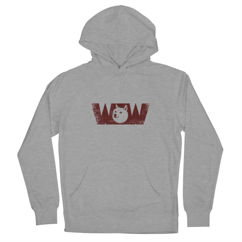 Such Wow Women's French Terry Pullover Hoody by Thirty Silver
