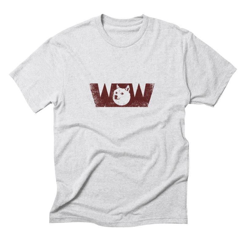 Such Wow Men's Triblend T-shirt by Thirty Silver