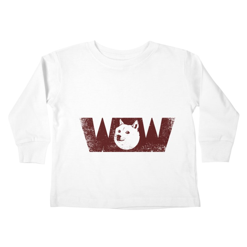 Such Wow Kids Toddler Longsleeve T-Shirt by Thirty Silver
