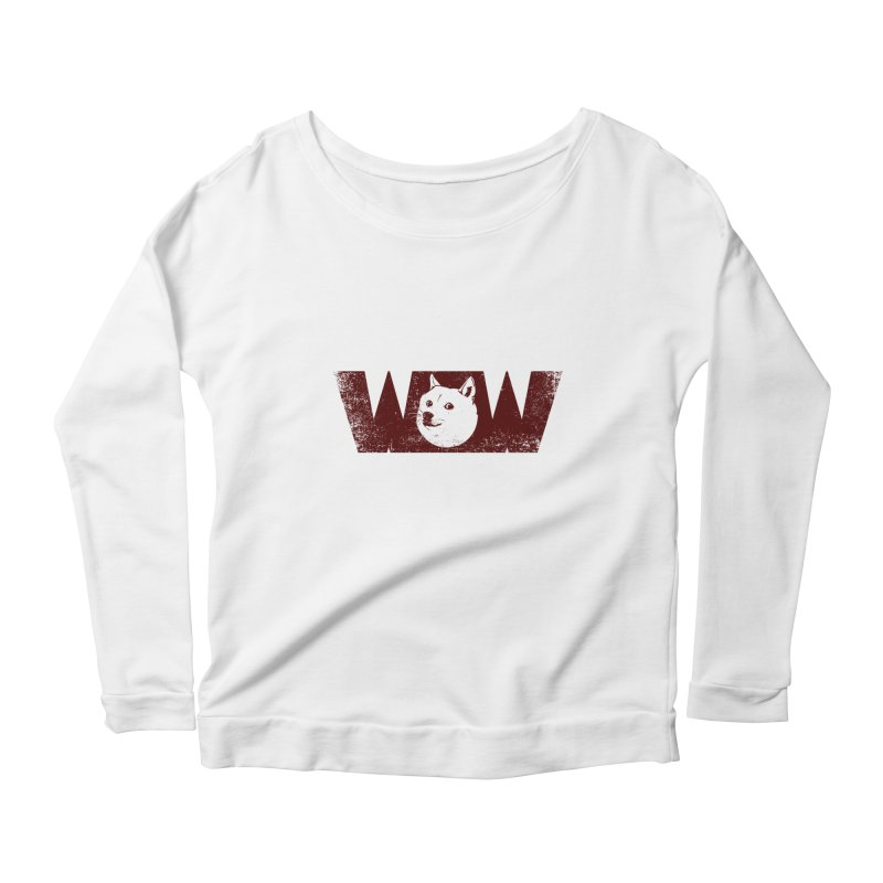 Such Wow Women's Longsleeve Scoopneck  by Thirty Silver
