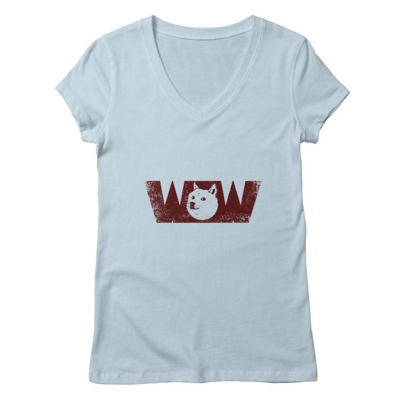 Such Wow Women's V-Neck by Thirty Silver