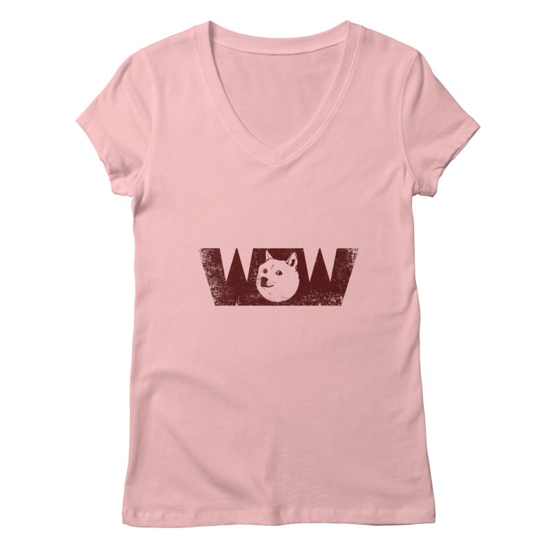 Such Wow Women's Regular V-Neck by Thirty Silver