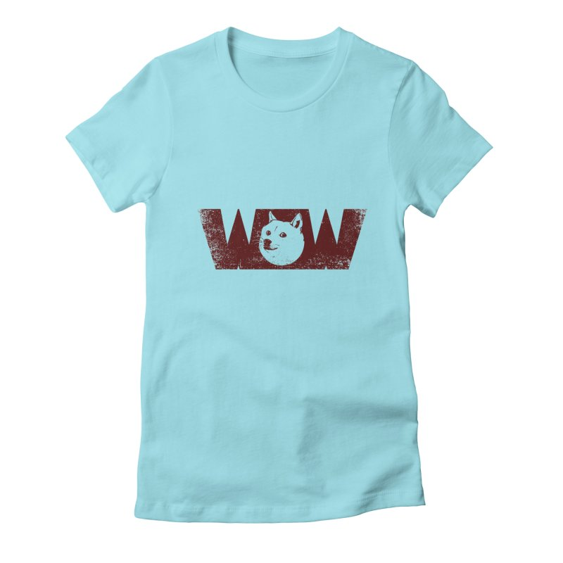 Such Wow Women's Fitted T-Shirt by Thirty Silver