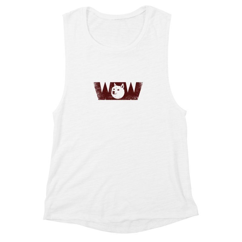 Such Wow Women's Muscle Tank by Thirty Silver