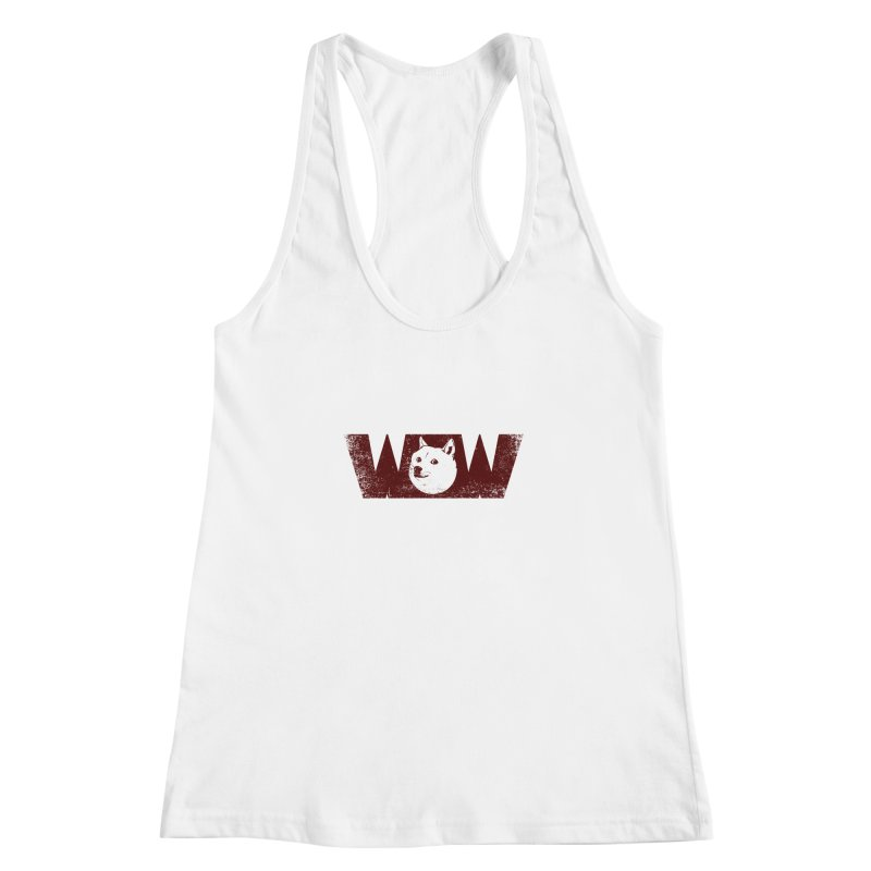 Such Wow Women's Racerback Tank by Thirty Silver