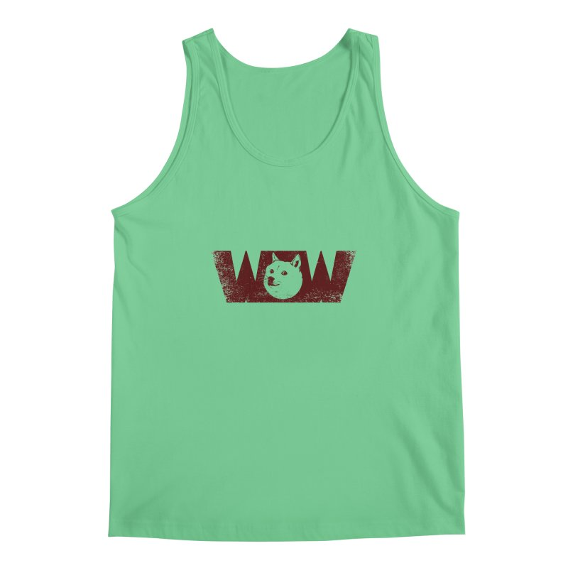 Such Wow Men's Regular Tank by Thirty Silver