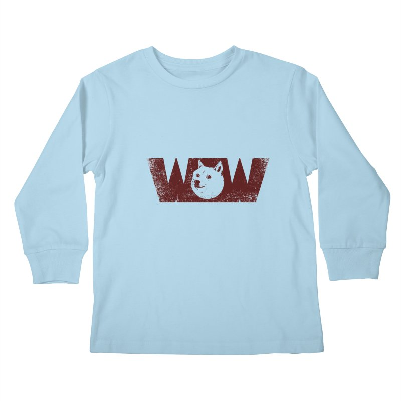 Such Wow Kids Longsleeve T-Shirt by Thirty Silver