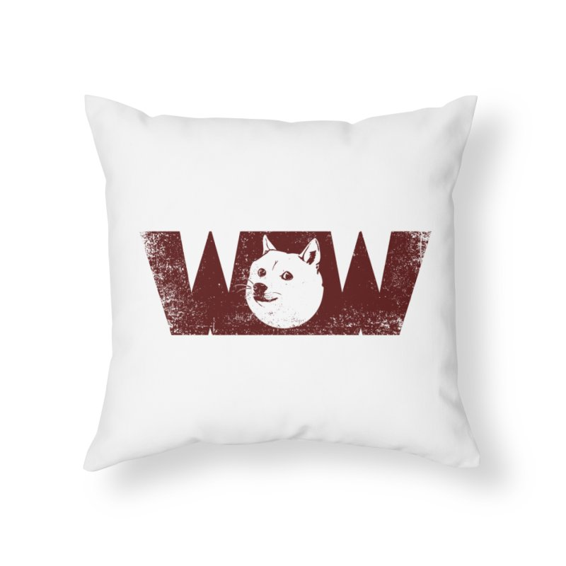 Such Wow Home Throw Pillow by Thirty Silver