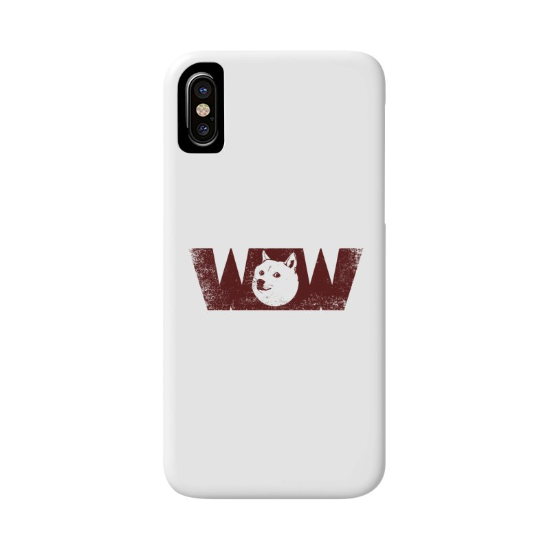 Such Wow Accessories Phone Case by Thirty Silver