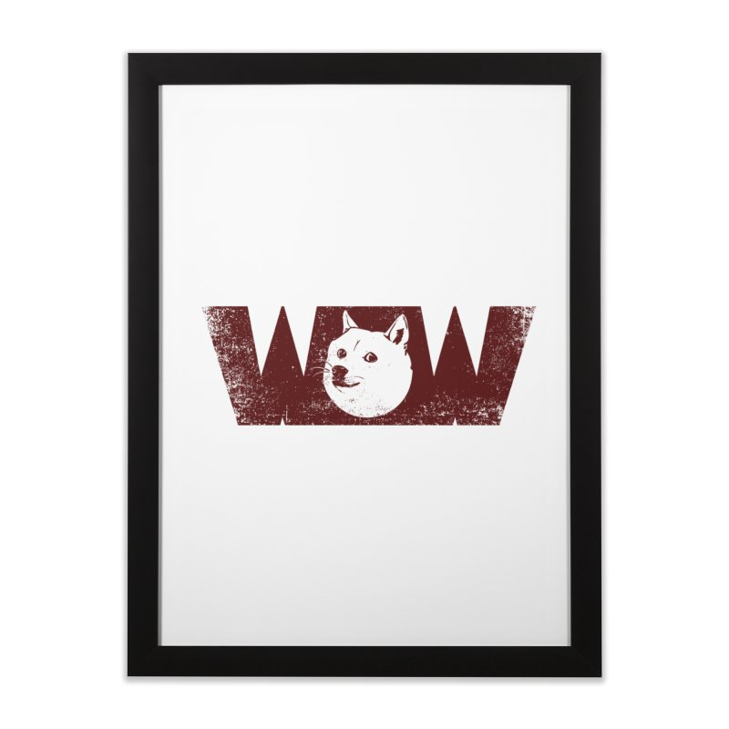 Such Wow Home Framed Fine Art Print by Thirty Silver