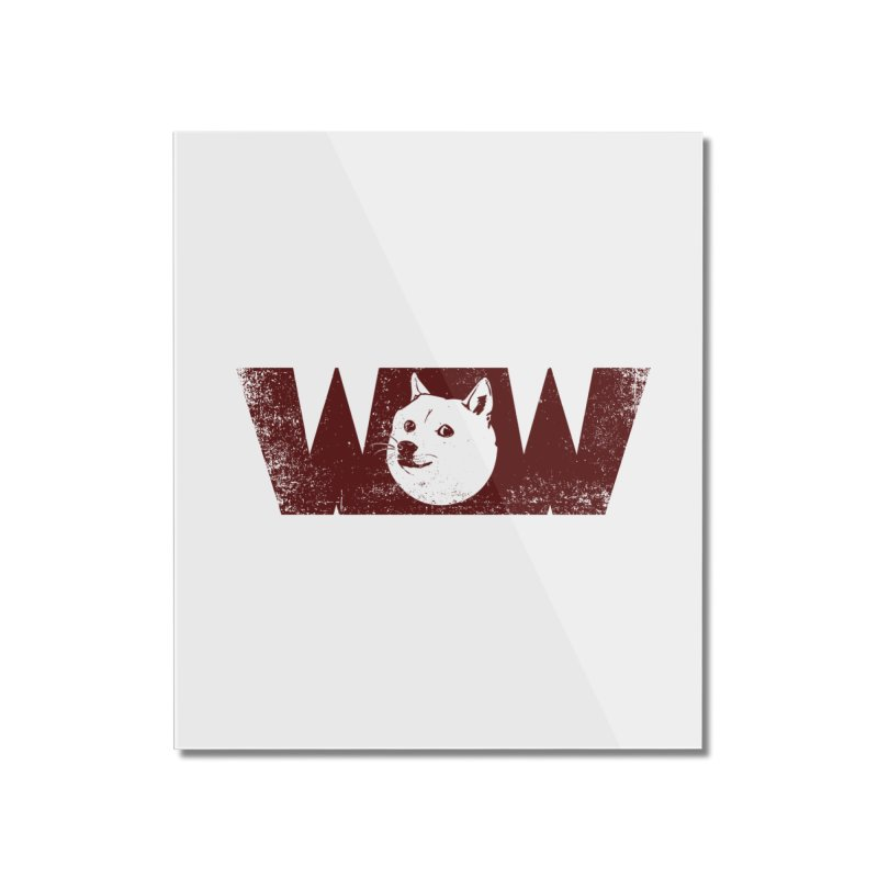 Such Wow Home Mounted Acrylic Print by Thirty Silver