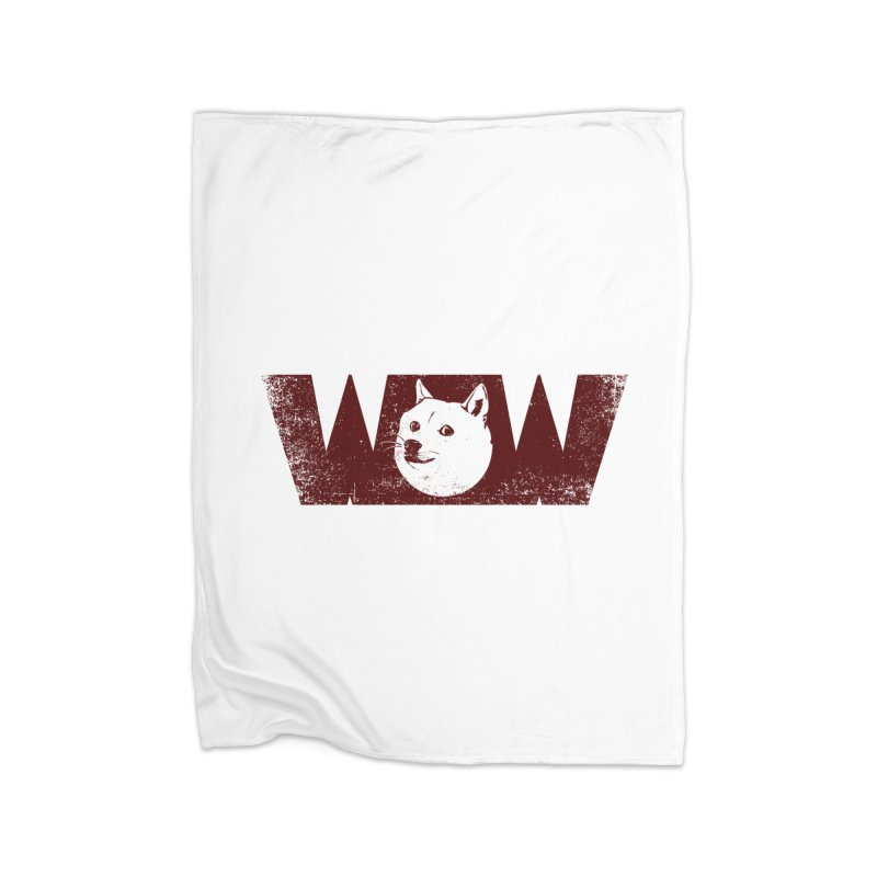 Such Wow Home Fleece Blanket Blanket by Thirty Silver