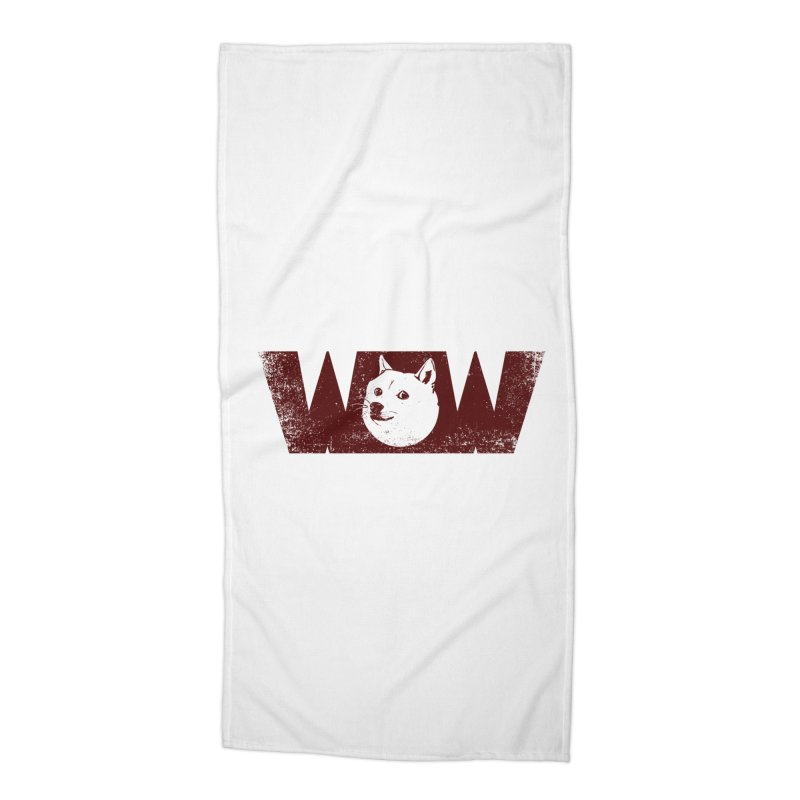 Such Wow Accessories Beach Towel by Thirty Silver