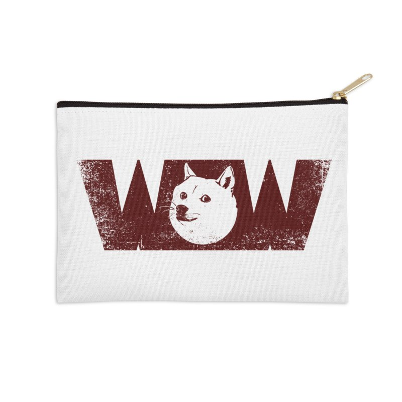 Such Wow Accessories Zip Pouch by Thirty Silver