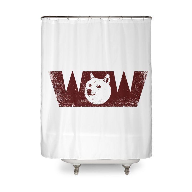 Such Wow Home Shower Curtain by Thirty Silver