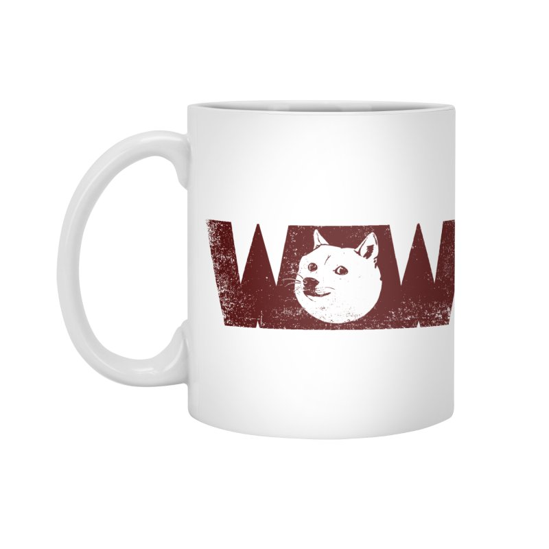 Such Wow Accessories Mug by Thirty Silver